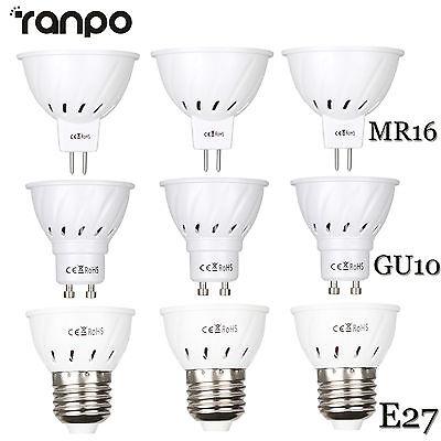 LED Bulb Spotlight 3W 5W 7W MR16 GU10 E27 2835 SMD Lamp 110V 220V 12V 24V (12v 24 Led Bulb Lamp)
