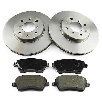 ATE2 Bremsscheiben Belüftet 275 mm Bremsbeläge Vorne Bremsen-Set