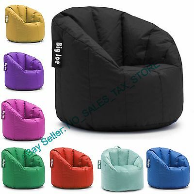 Childrens Bean Bags (Big Joe Milano Bean Bag Chair Multiple Colors Available Comfort For Kids &)