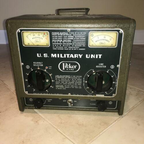 Vintage Wwii U.s. Military Picker X-ray Unit / Machine