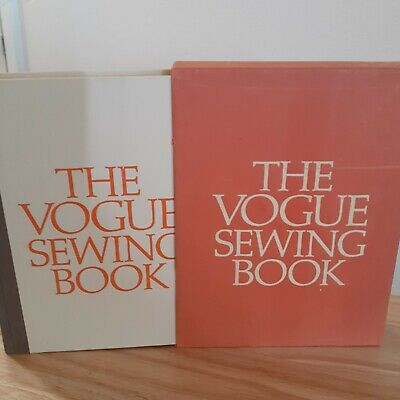 Vintage The Vogue Sewing Book 1970 with Original Slipcover