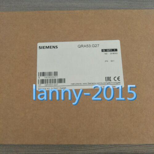 1pc New  Qra53.g27 125mm Ac 220-240v Siemens Burner Flame