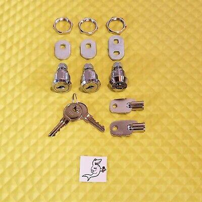 Vendstar 3000 2 159 Top Lid 1 2222 Back Door Locks 2 Keys Ea - New