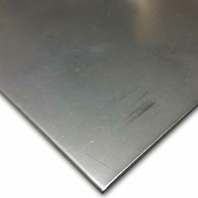 304 2b Bright Cold Rolled Stainless Steel Sheet 0.024 24 Ga. X 24 X 48