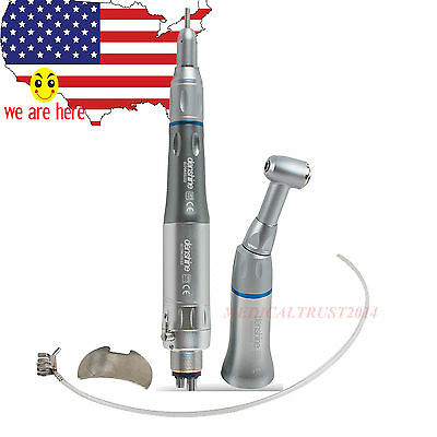 Dental Slow Low Speed Handpiece Push Contra Angle Air Motor E-type 4h Nsk Style