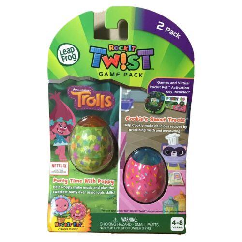 Leap Frog RockIt Twist Trolls & Cookie Sweet Treats Party Po