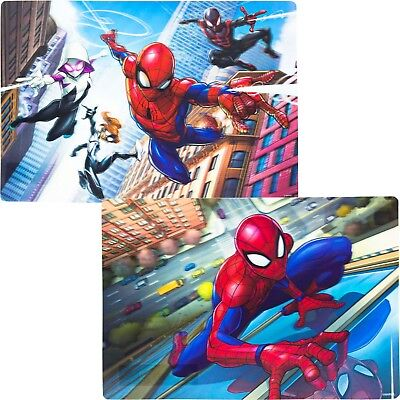 (Official Marvel Spider Man 3D Placemat Dinner Mat for Kids Childrens )