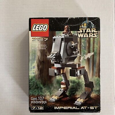 LEGO Star Wars Return of the Jedi Imperial AT-ST Set #7127 New In Box