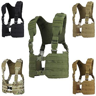 Condor MCR7 MOLLE PALS Modular Quick Release Adjustable Ronin Chest Rig Harness ()