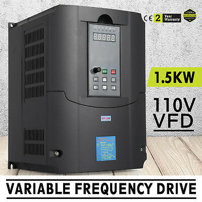 1.5kw 110v Variable Frequency Drive 2hp Vfd Close-loop Speed New Calculous Pid