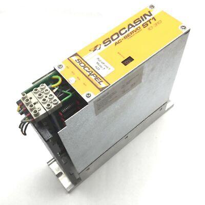 Socasin 10-310 St1 Ac Servo Amplifier Drive For Komax Alpha 411 Wire Machine