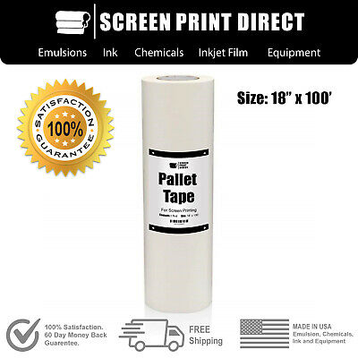 Ecotex Pallet Tape For Screen Printing - 18 X 100
