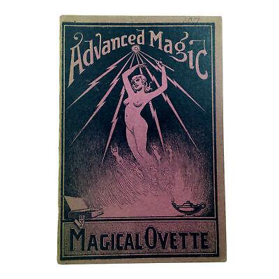 Advanced Magic: Magical Ovette (Joe Ovette) 1st Ed 1919 Card Tricks & Effects