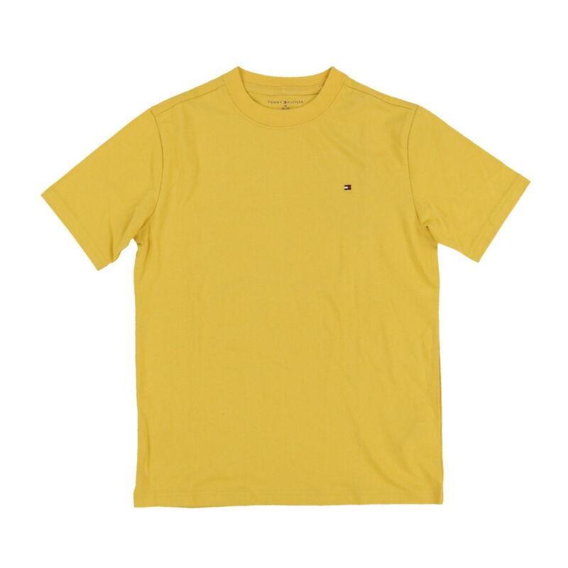 Tommy Hilfiger Kids T-Shirt Big Boys Solid Crew Neck Tee Children Size 4-18 New
