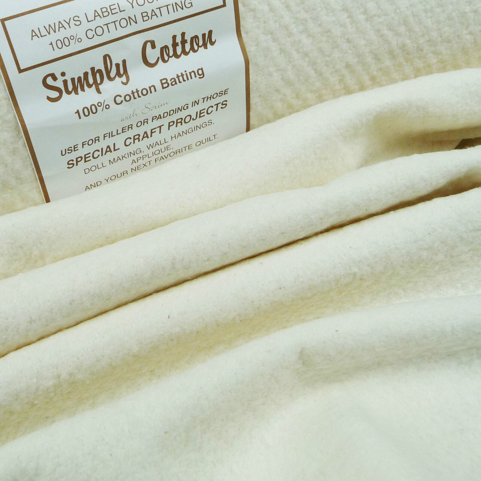 Simply Cotton 100% Wadding 44