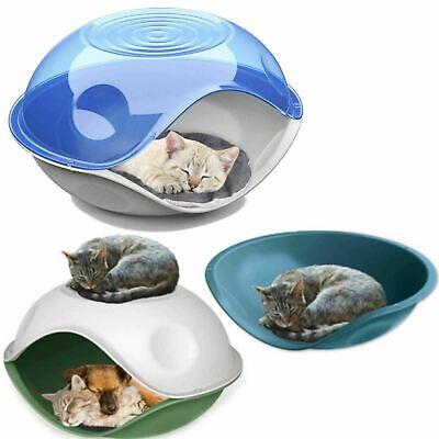 Waterproof Outdoor Plastic Shelter Pet Cat Kitten Dog Bed House Kennel Crate Pod