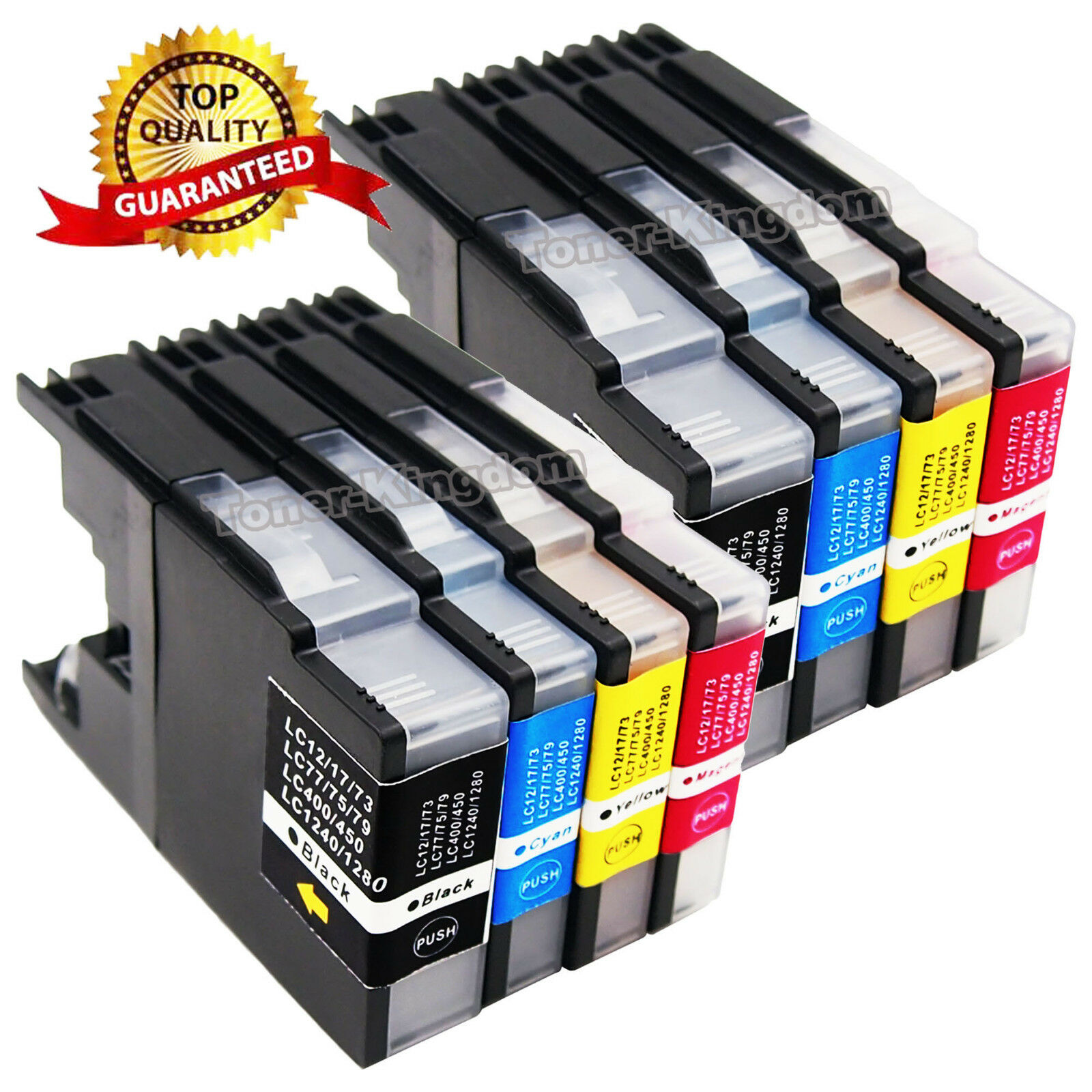 8PK LC-75 LC71 Ink Cartridges for Brother MFC-J430w MFC-