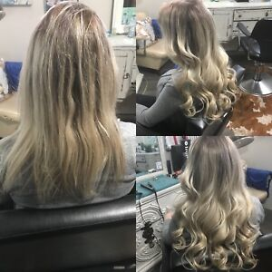 Thick full hair extensions