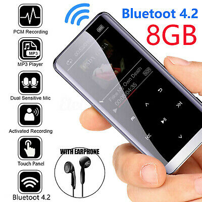 48 Hours Bluetooth4.2 MP3 Hifi Touch Screen Lossless Sound M