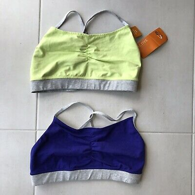 Champion Women Sz L Sport Bras Stetch Knit Bundle, used for sale  Shipping to India