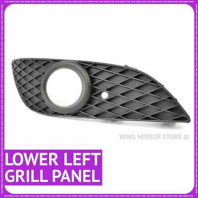 For Vauxhall Astra H Front Bumper Grille Trim Bezel Vent Right with Fog lamp