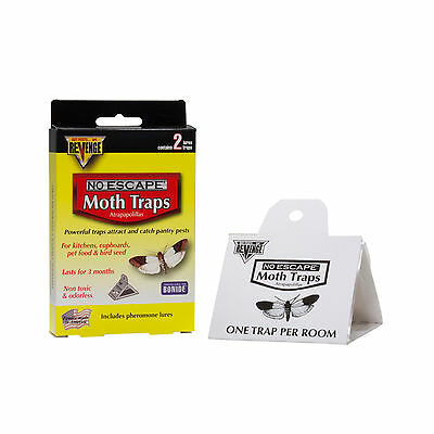 2 Pantry Moth Bird Seed Pet Food Moth Traps Indian Meal Moth Traps Meal Moths