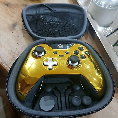 XBOX ONE ELITE LIMITED EDITION GOLD WIRELESS CONTROLLER  (Series 1) FULLY BOXED for sale  Shipping to Nigeria