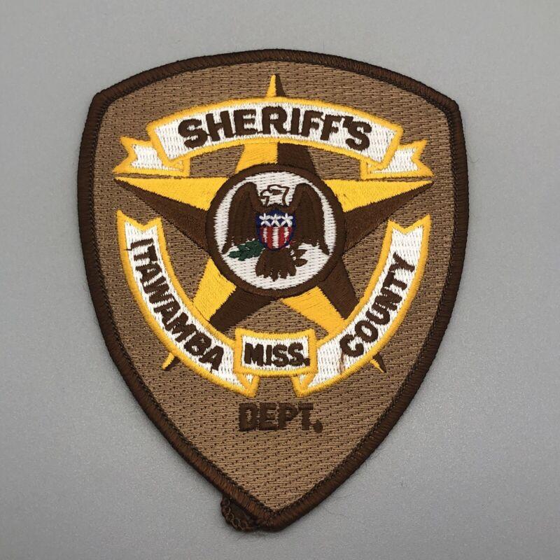 MISSISSIPPI, ITAWAMBA COUNTY SHERIFF