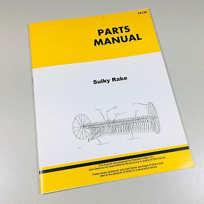 Parts Manual For John Deere Sulky Rake Catalog