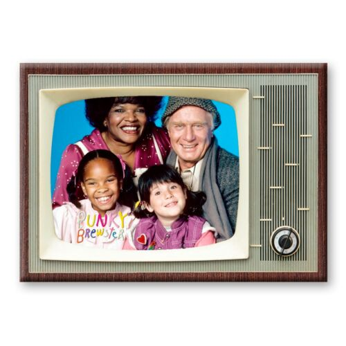 PUNKY BREWSTER TV Show Classic TV 3.5 inches x 2.5 inches FRIDGE MAGNET