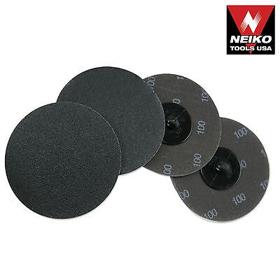 Neiko 11183a -10 Piece 3 100 Grit Silicon Carbide Sanding Discs - New
