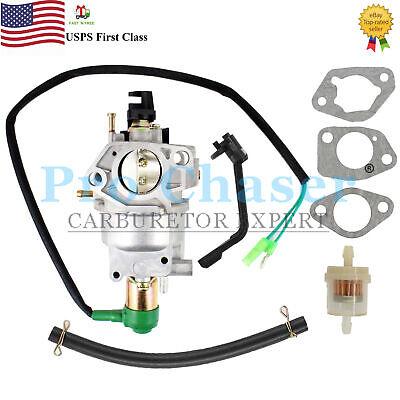 Honeywell Hw7500e Hw7500el Hw7000eh 15hp 420cc Generator Carburetor Carb