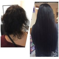 MOBILE HAIR EXTENSIONS! Same day/in salon! Hot fusions!