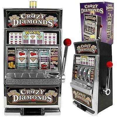 - Slot Machine Adult Home Casino Jackpot Game Spin Coin Bank Lotto Crazy Diamonds