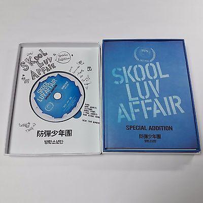 BTS SKOOL LUV AFFAIR Special Addition CD DVD [NO photocard] K-POP Bangtan Boys