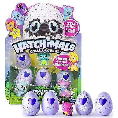 Hatchimals Colleggtibles Mini 4 Pack Bonus   Hatchimal Colleggtible Season 1