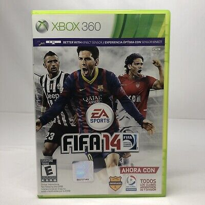FIFA 14 EA Sports Microsoft Xbox 360 Disc Game Made in Mexico for sale  Shipping to Nigeria
