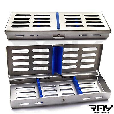 Dental Surgical Sterilization Autoclave Cassette Tray Box Rubber Linker