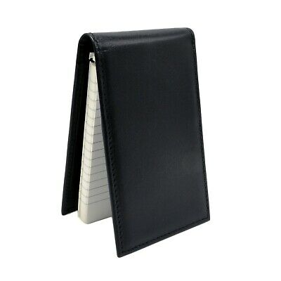 Police Leather Notebook Case Pocket Note Pad Black Pad Style Duty Memo Book 3x5