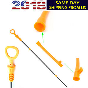 FITS FOR VW Volkswagen 2.0L OIL DIPSTICK & TUBE Beetle Golf Jetta Dip Stick