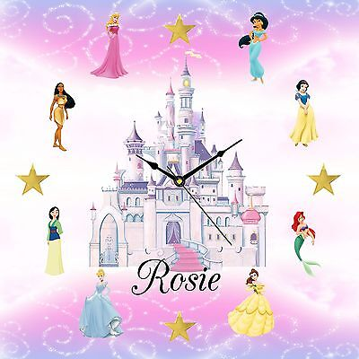 Personalised Disney Princess Clock Christmas Gift Daughter Sister Present](Personalized Disney Princess Gifts)
