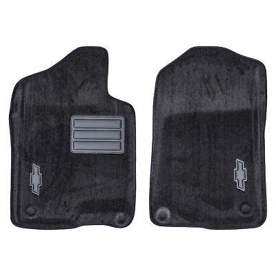 OEM NEW Front Molded Carpet Floor Mat Black w/Bowtie 07-14 Chevrolet 17800401