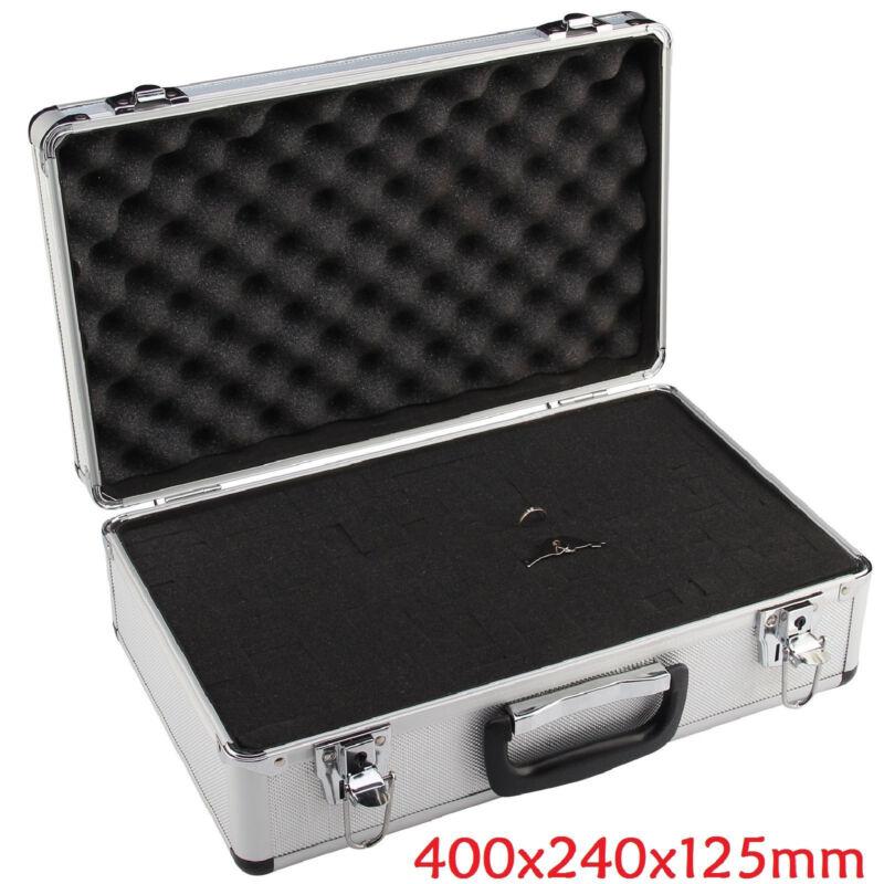 Petit Valise Aluminium Flight Case Box Silver mousse outil Voyage Transport