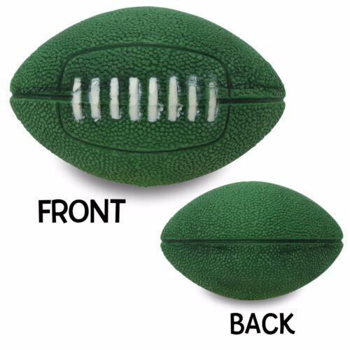 Quantity 10 pcs - CoolBalls® Green Football Car Antenna Topper / Antenna Balls