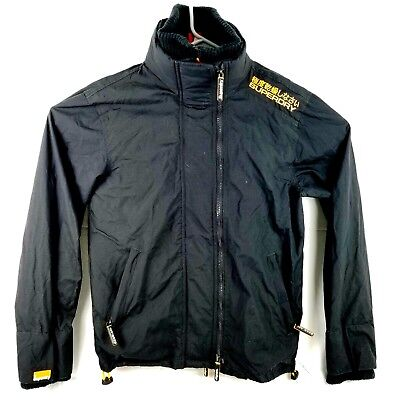 Superdry The Windcheater Mens Size Small Jacket Black