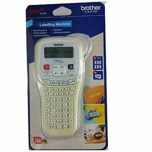 Brother Label PT-H101C Handheld Thermal Printer with Tape and Batteries P-Touch
