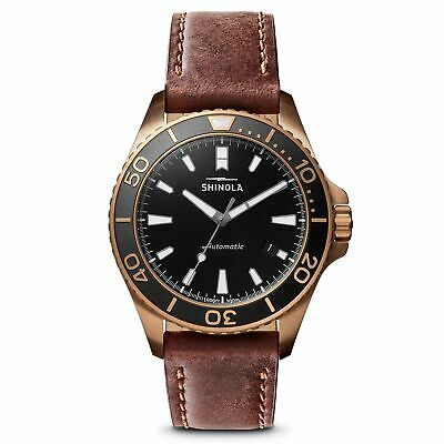 Shinola Monster Automatic Movement Black Dial Men's Watches S0120161956