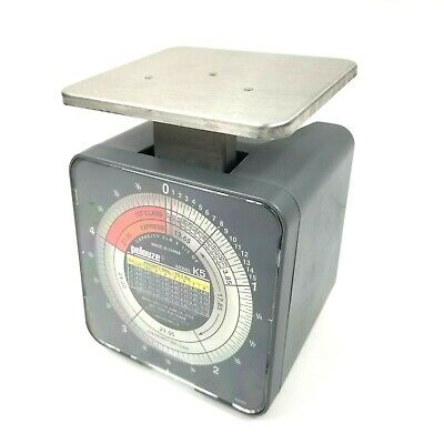Pelouze Postage Scale Model No. K5 5 Pound Capacity 1999 Usps Rates Pelstar