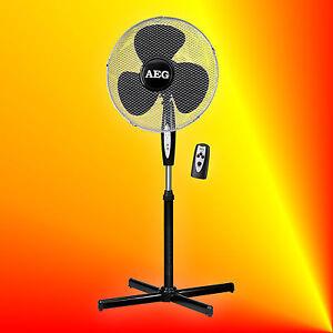 aeg vl 5668s standventilator mit fernbedienung und timer l fter ventilator. Black Bedroom Furniture Sets. Home Design Ideas