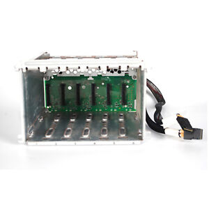 HP ProLiant ML350 G6 6 x LFF Drive Cage w/Backplane Cables 511784-001 507070-001